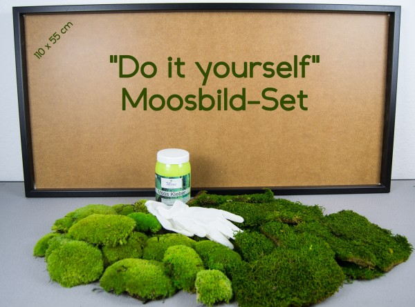 Moosbild DO IT YOURSELF Kit
